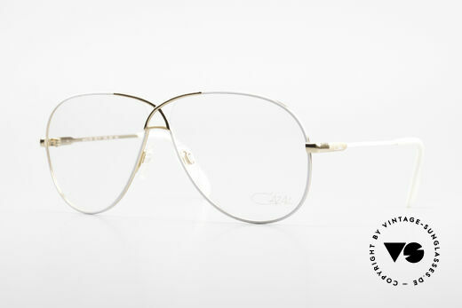 Cazal 728 Aviator Style Vintage Glasses Details