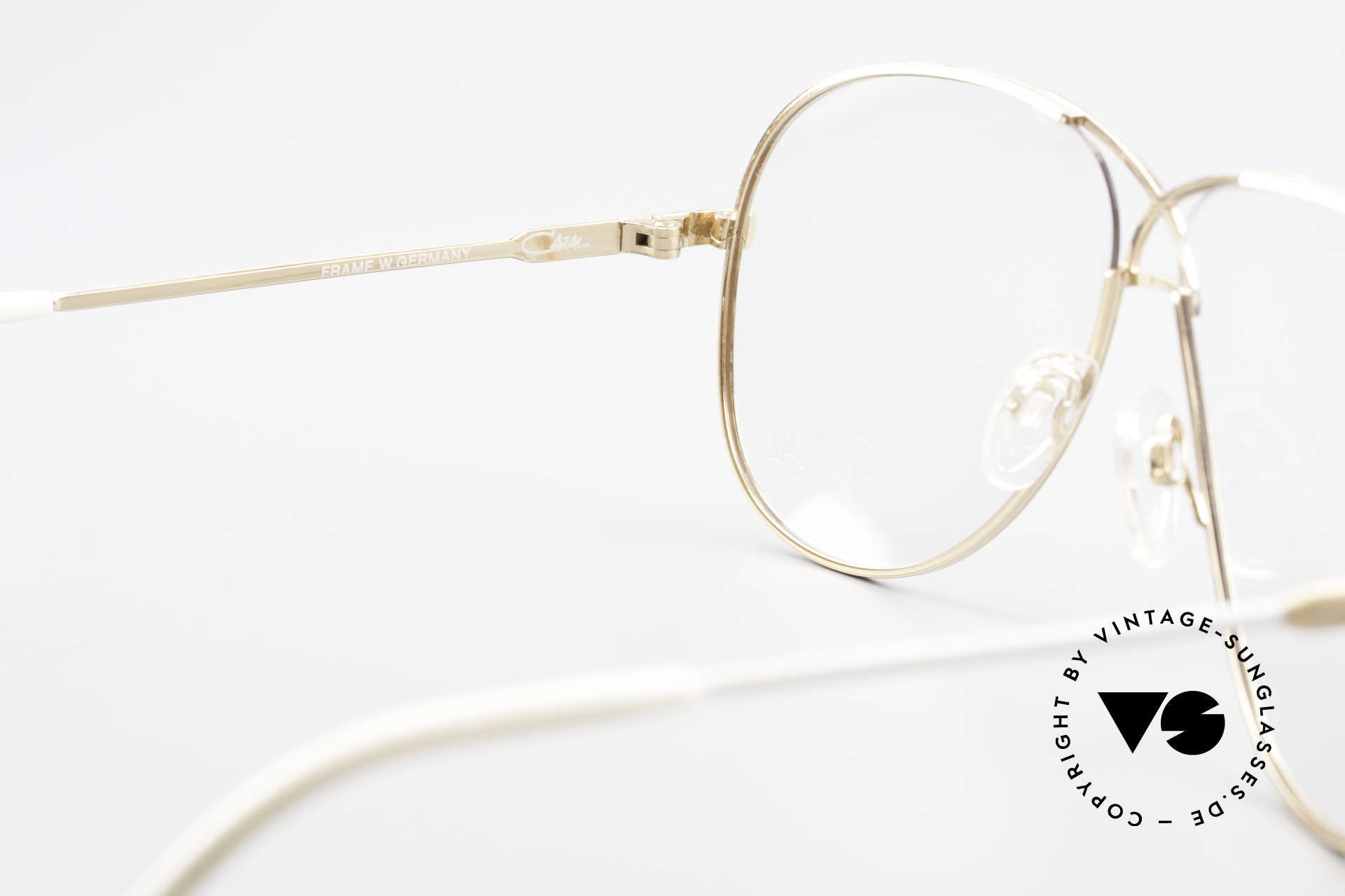 Cazal 728 Aviator Style Vintage Glasses, NO RETRO eyeglasses, but a 30 years old original, Made for Men and Women