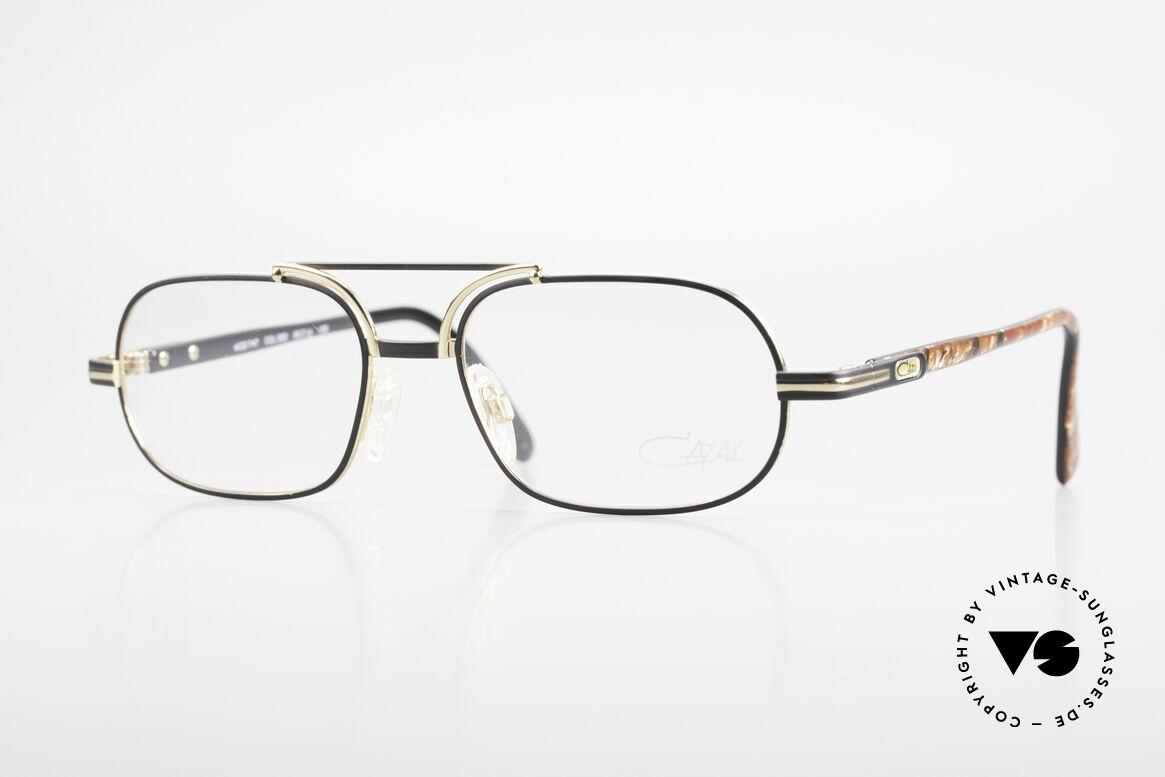 Cazal 747 Vintage 90's Designer Frame, classic Cazal designer eyeglasses from the early 90's, Made for Men