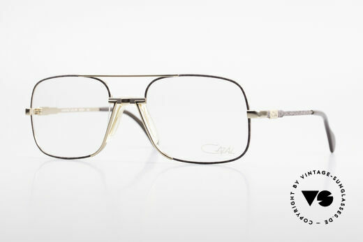 Cazal 740 Vintage Eyeglasses Men 90's Details