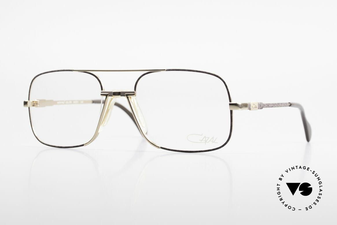 Cazal 740 Vintage Eyeglasses Men 90's, high-end CAZAL designer eyeglasses from the 1990's, Made for Men