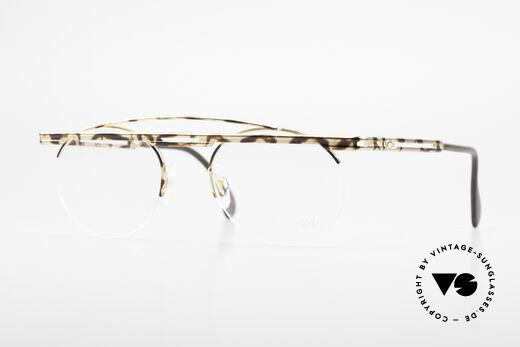 Cazal 748 Rare Vintage No Retro Glasses Details