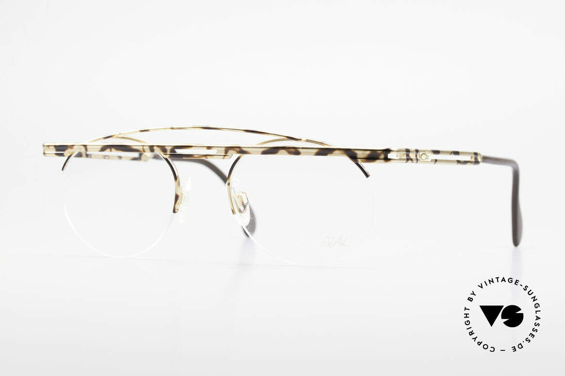 Cazal 748 Rare Vintage No Retro Glasses, interesting Cazal vintage eyeglasses-frame from 1997/98, Made for Men and Women