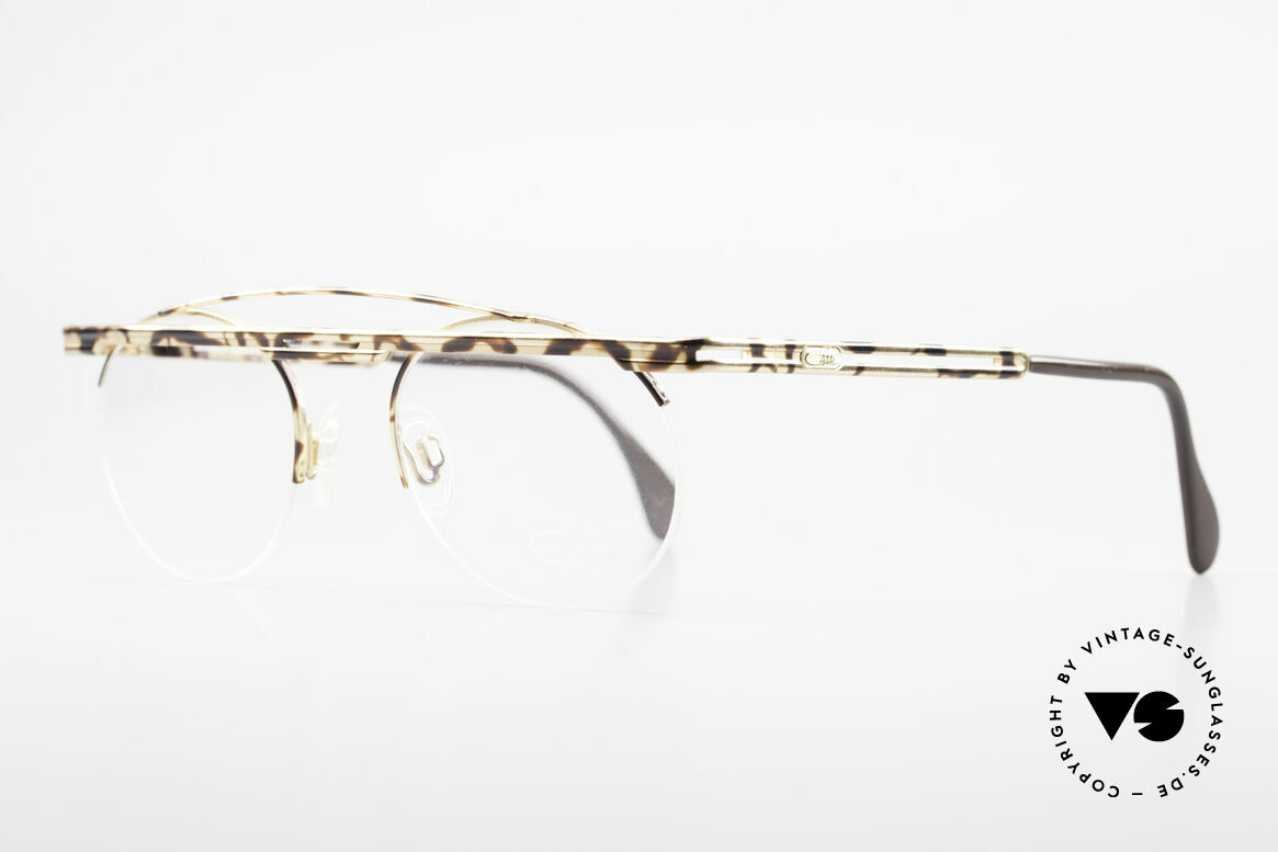 Cazal 748 Rare Vintage No Retro Glasses, costly varnishing (characteristical for all vintage Cazals), Made for Men and Women