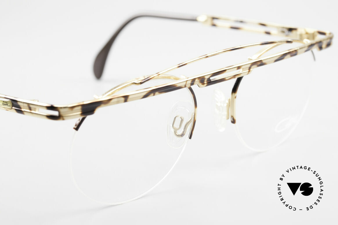 Cazal 748 Rare Vintage No Retro Glasses, tangible high-end craftsmanship (frame made in Germany), Made for Men and Women