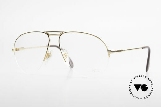 Cazal 726 West Germany Aviator Glasses Details