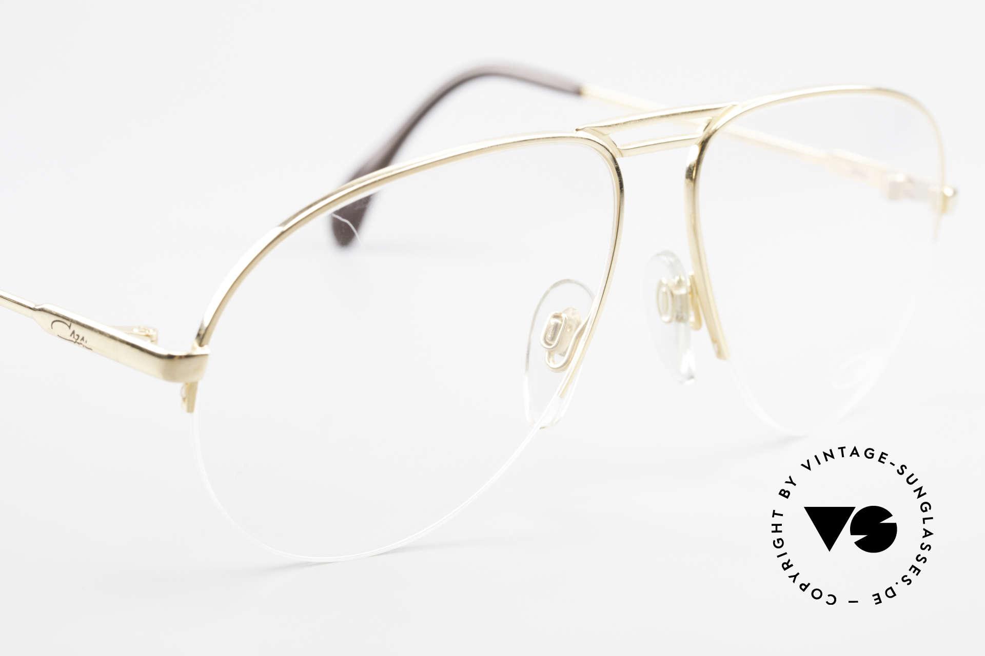 Cazal 726 West Germany Aviator Glasses, NO RETRO, an 80's West Germany ORIGINAL, Made for Men