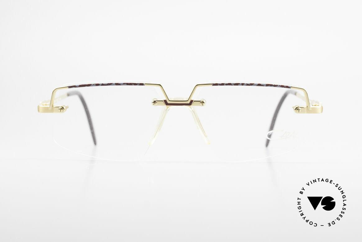 Cazal 742 Vintage Cazal Frame Rimless, vintage Cazal designer glasses from the 90's, Made for Men