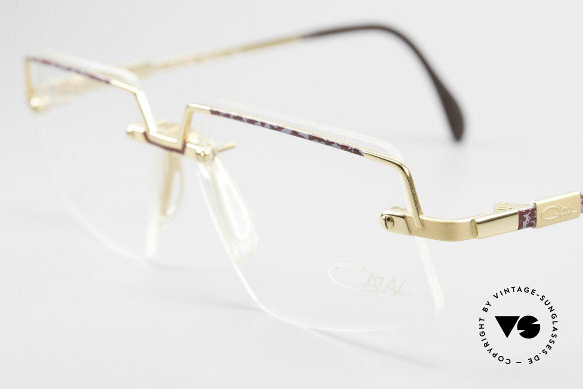 Cazal 742 Vintage Cazal Frame Rimless, new old stock (like all our rare Cazal eyewear), Made for Men