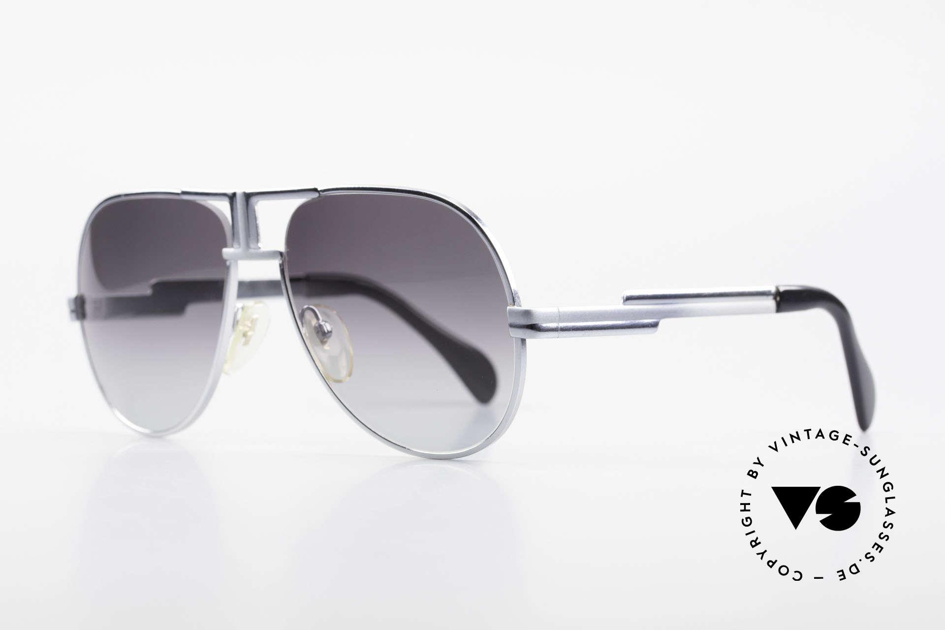 Cazal 702 Ultra Rare 70's Sunglasses, gray-gradient lenses (100% UV prot.), size 58/16, Made for Men