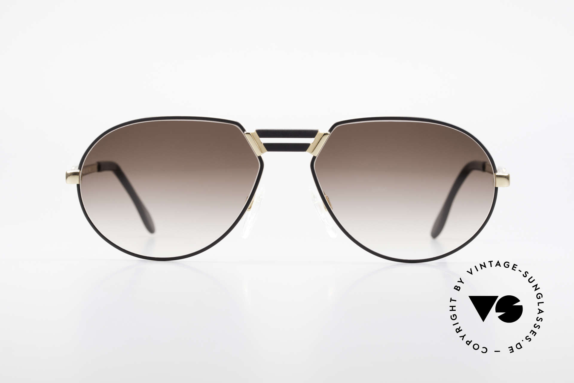 "Cazal 739 Extraordinary Sunglasses XL, slightly ""teardrop shaped"" frame by CAri ZALloni, Made for Men"