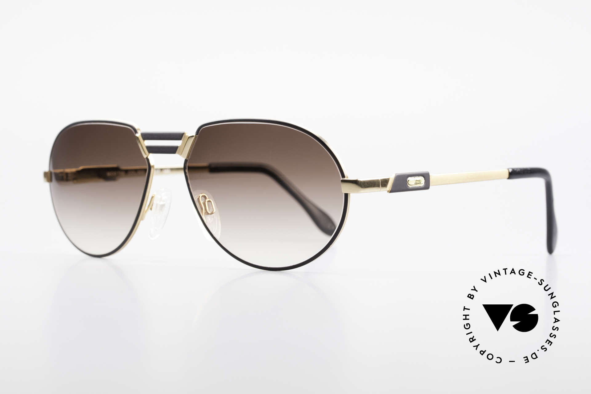 Cazal 739 Extraordinary Sunglasses XL, very elegant and top-quality; made in Germany, Made for Men