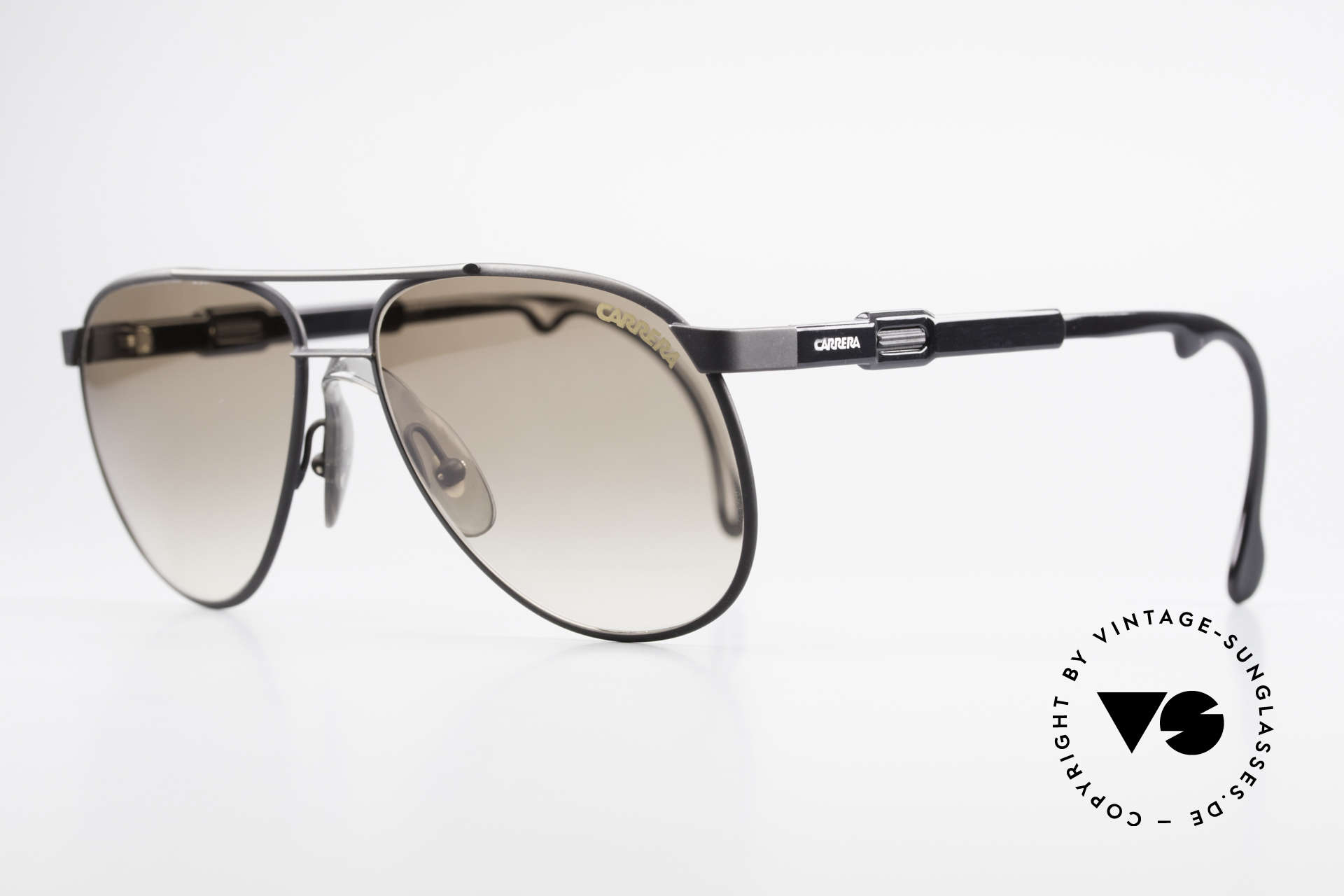 Carrera 5348 Vario Sports Sunglasses 80's, variable temple length, due to Carrera Vario System, Made for Men and Women