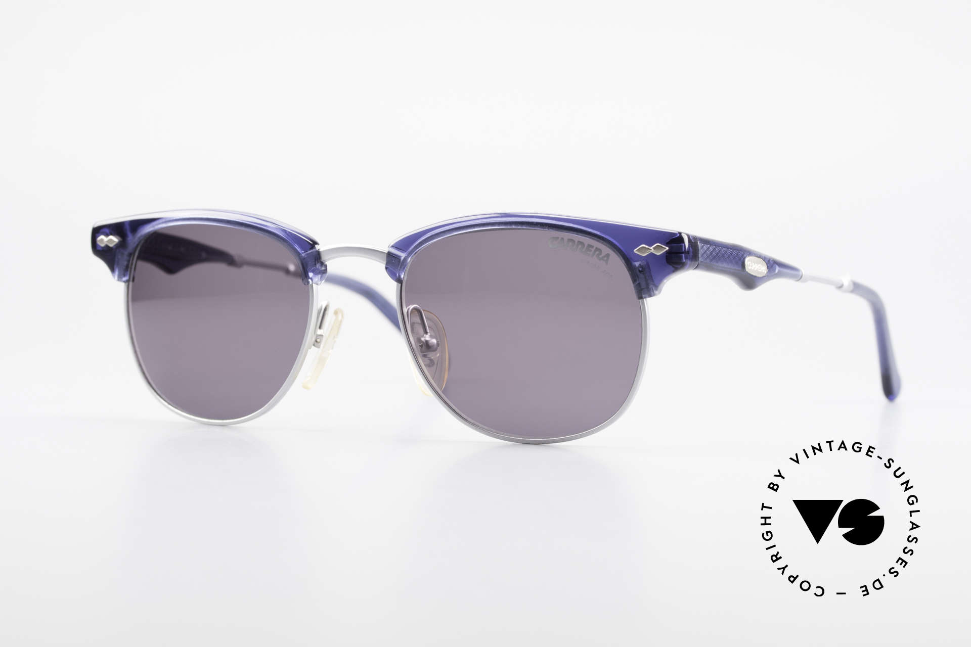 Carrera 5324 Vintage Panto Sunglasses 90s, very stylish Carrera vintage 'gentleman sunglasses', Made for Men