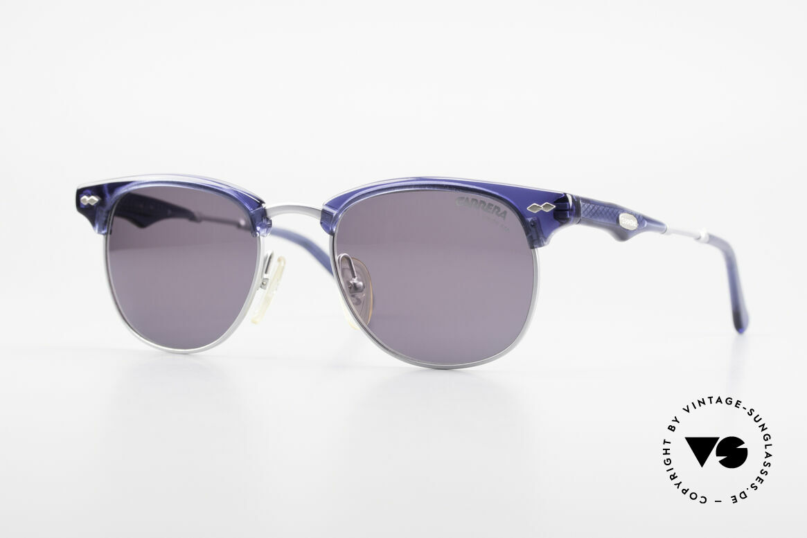 Carrera 5324 Vintage Panto Sunglasses 90s, very stylish Carrera vintage 'gentleman sunglasses', Made for Men
