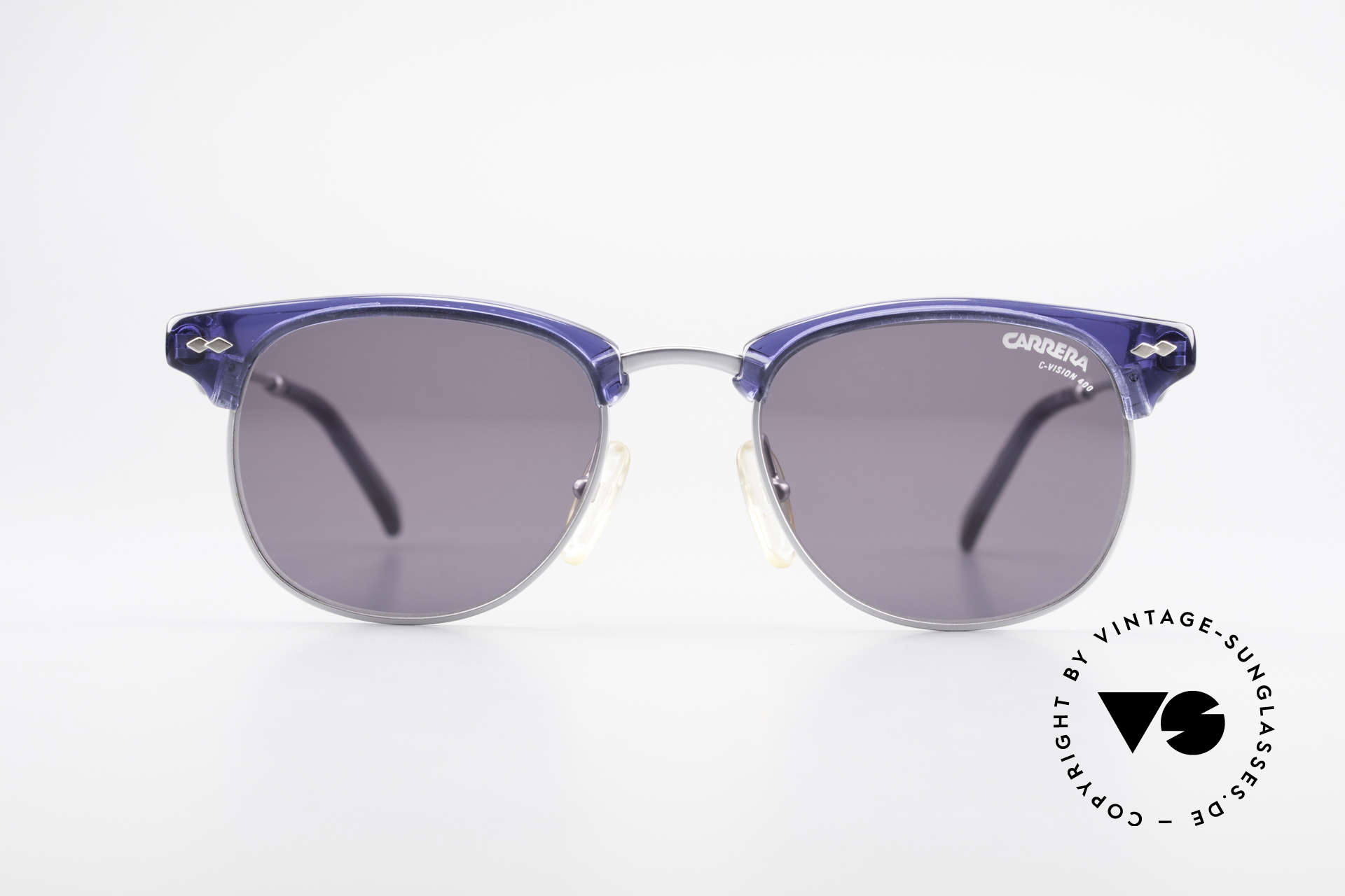 Carrera 5324 Vintage Panto Sunglasses 90s, elegant combination of colors, materials and shape, Made for Men