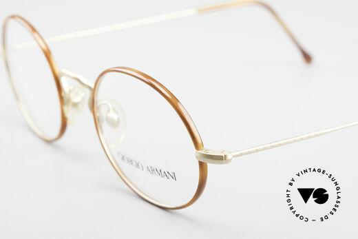 Giorgio Armani 247 90's Oval Eyeglasses No Retro