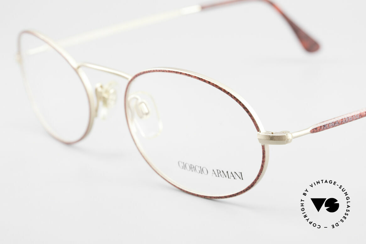 Giorgio Armani 125 Oval 80's Vintage Glasses, never worn (like all our 1980's designer classics), Made for Women
