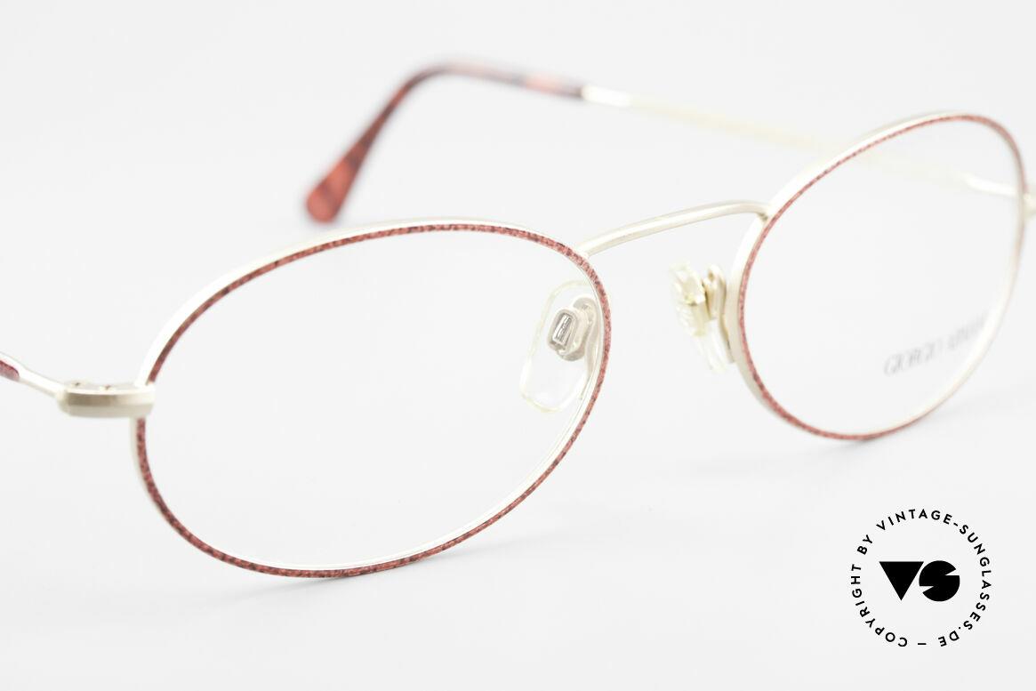 Giorgio Armani 125 Oval 80's Vintage Glasses
