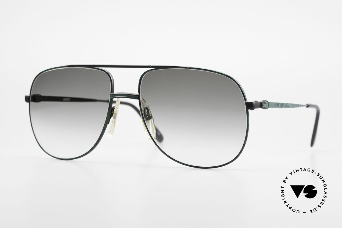 Lacoste 101 Sporty Aviator Sunglasses XL, vintage Lacoste 101 sunglasses from the 1980's / 1990's, Made for Men