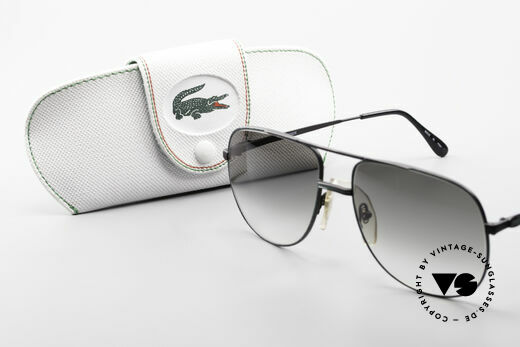 Lacoste 101 Sporty Aviator Sunglasses XL, never worn, NOS, single item with original Lacoste case, Made for Men