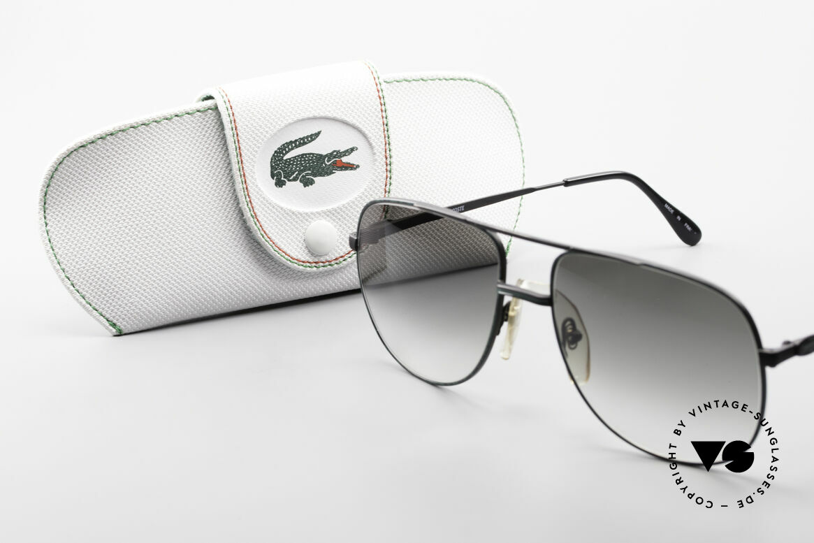 Lacoste 101 Sporty Aviator Sunglasses XL