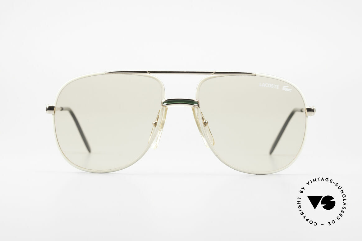 Lacoste 101 Lacoste Changeable Lenses, mod. 101 was released in the 80s & modified in the 90's, Made for Men