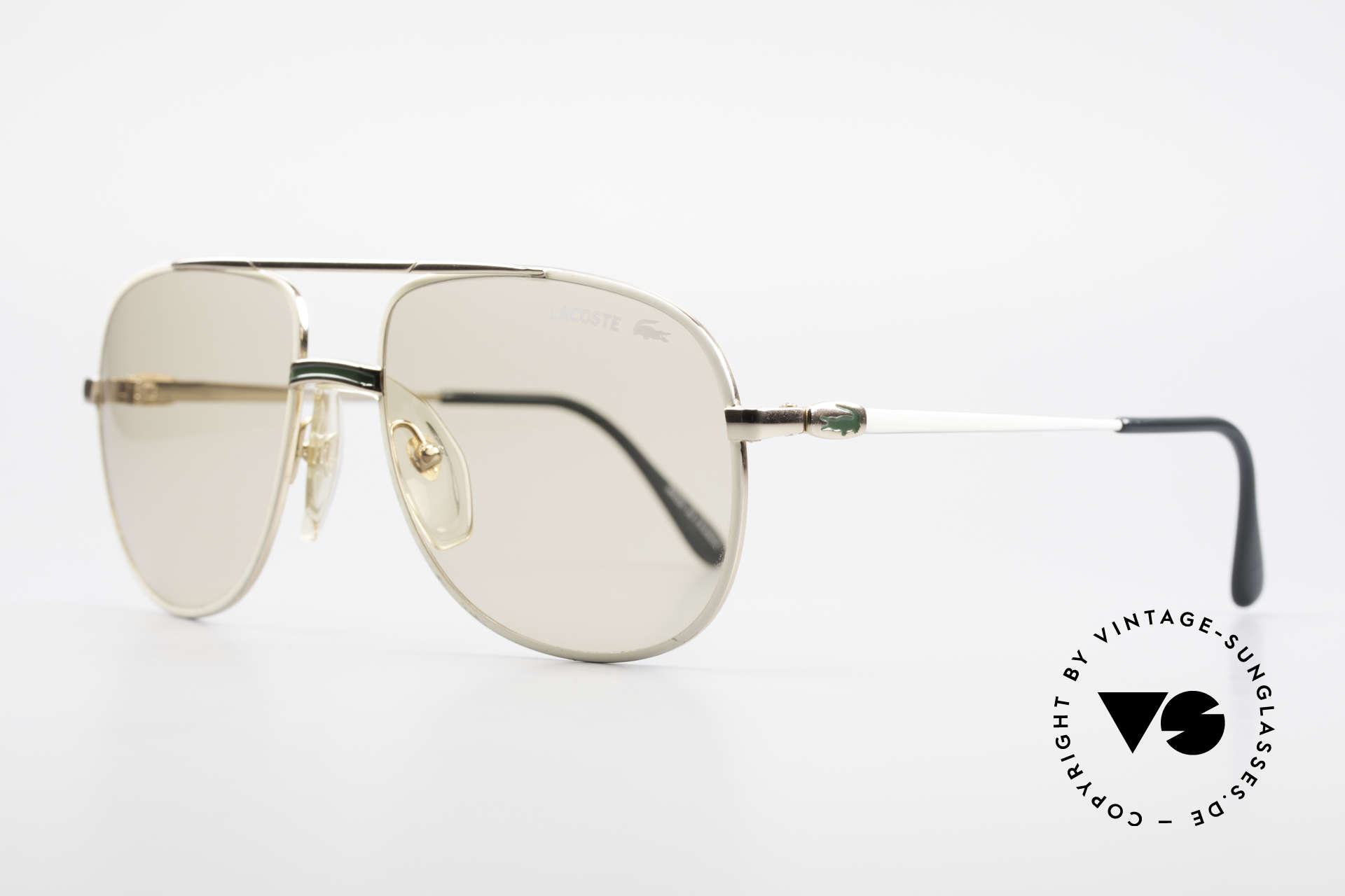 Lacoste 101 Lacoste Changeable Lenses, this pair comes from the 80's with CHANGEABLE lenses, Made for Men