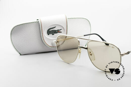Lacoste 101 Lacoste Changeable Lenses, never worn, NOS, single item, M size 57/17, + orig. case, Made for Men