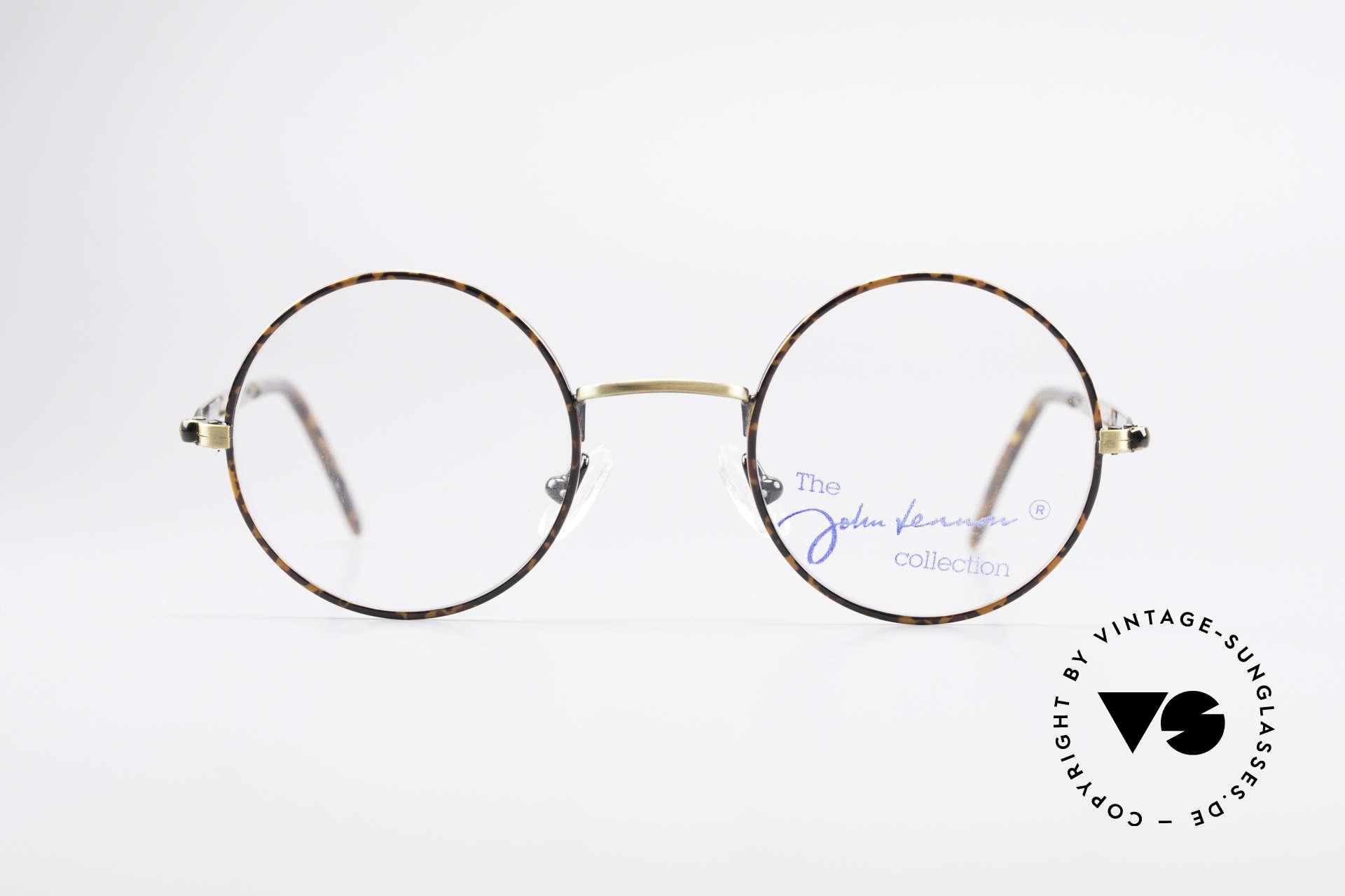 John Lennon - Revolution Small Round Vintage Glasses, frame models named after Lennon songs or words, Made for Men and Women