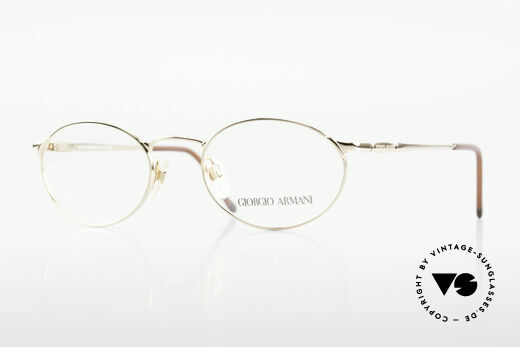Giorgio Armani 263 Oval Eyeglasses Ladies Gents Details