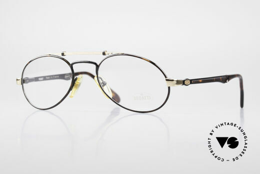 Bugatti 16957 Rare 80's Eyeglasses For Men Details