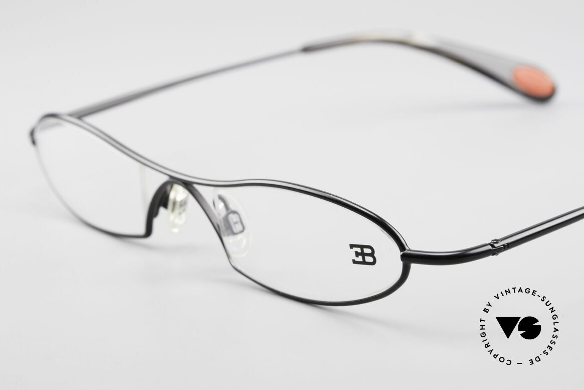 Bugatti 347 Odotype Small Men's Designer Frame, very special lens construction; TOP comfort, Made for Men