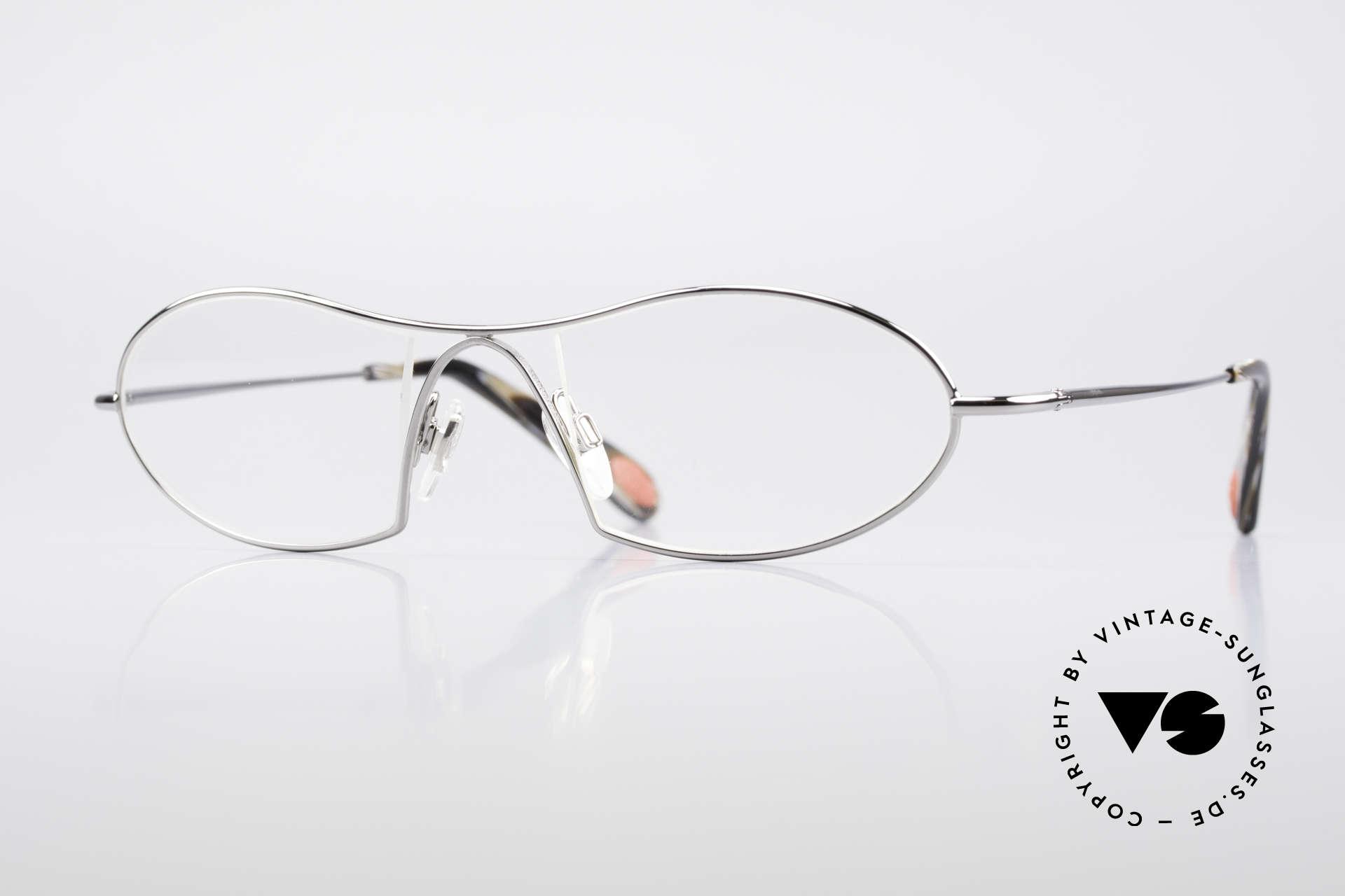 Bugatti 345 Odotype Men's Designer Vintage Frame, original BUGATTI high-tech eyeglass-frame, Made for Men