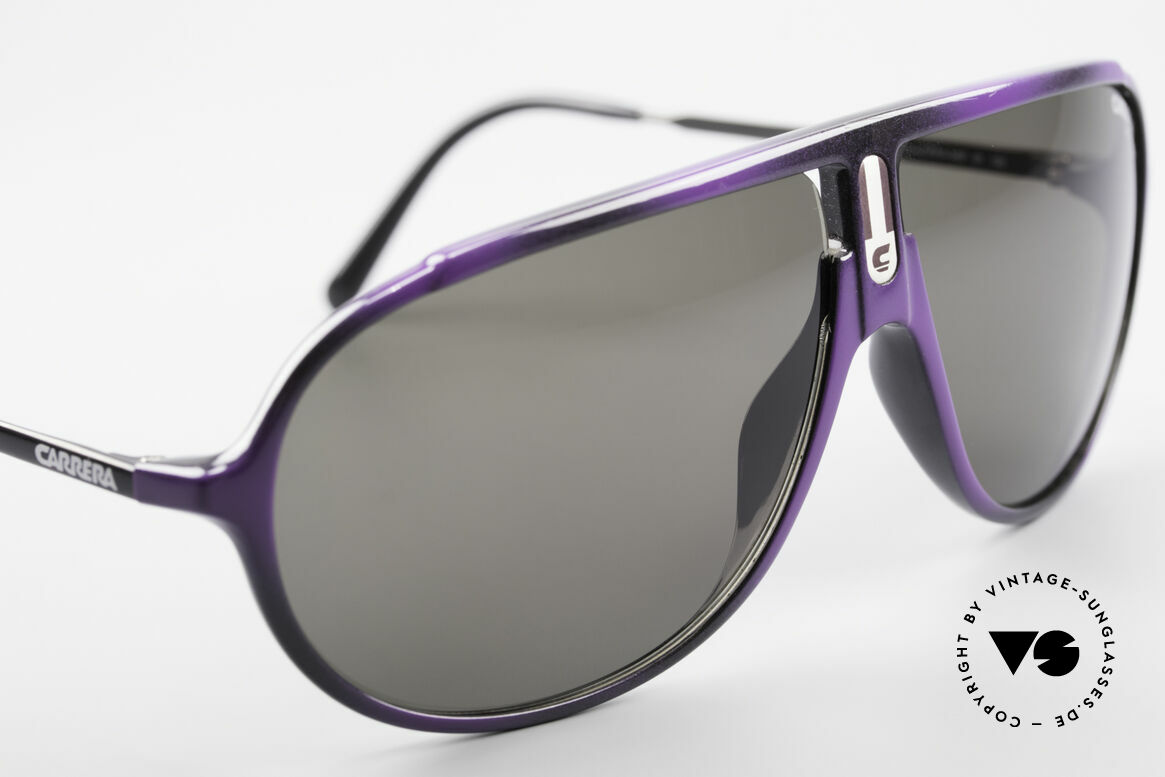 Carrera 5467 Carbon Fibre Shades Vintage, unworn, NOS; like all our vintage Carrera shades, Made for Men