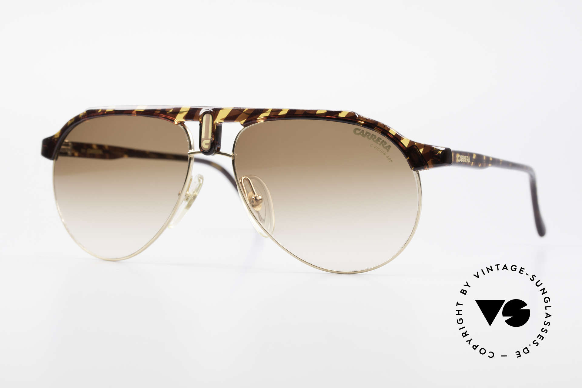 Carrera 5478 Rare Vintage Shades Aviator, brilliant CARRERA design from the late 1980's, Made for Men and Women