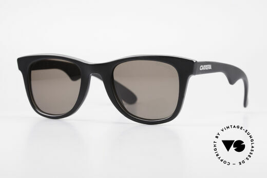 Carrera 5447 90's Sunglasses Wayfarer Style Details