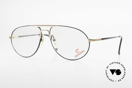 Carrera 5340 90's Aviator Frame No Retro Details