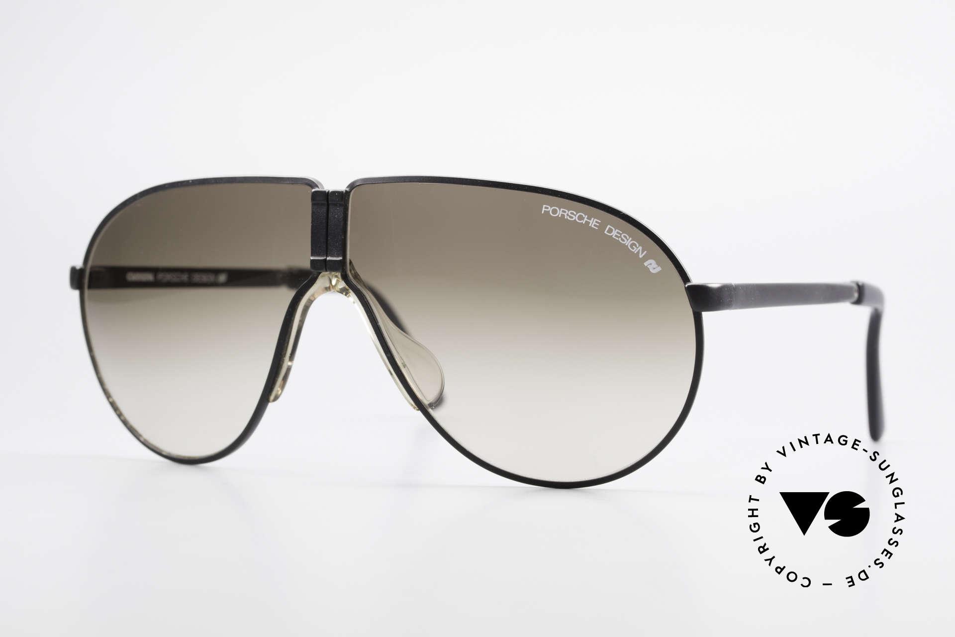05234ff441005 Sunglasses Porsche 5622 Rare Folding Sunglasses 80 s