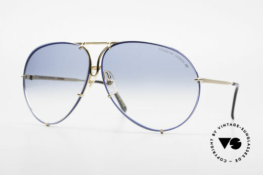 Porsche 5621 XL 80's Aviator Shades Limited Details
