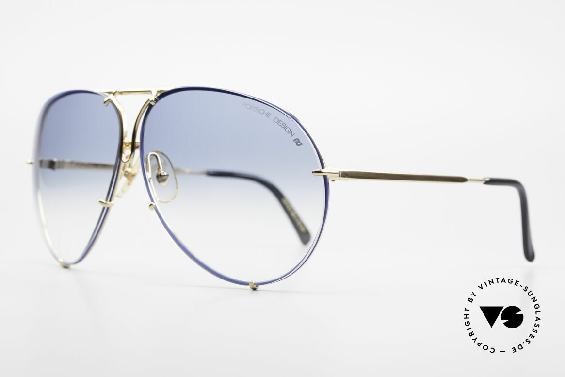 Porsche 5621 XL 80's Aviator Shades Limited, the legend with interchangeable lenses; true vintage, Made for Men