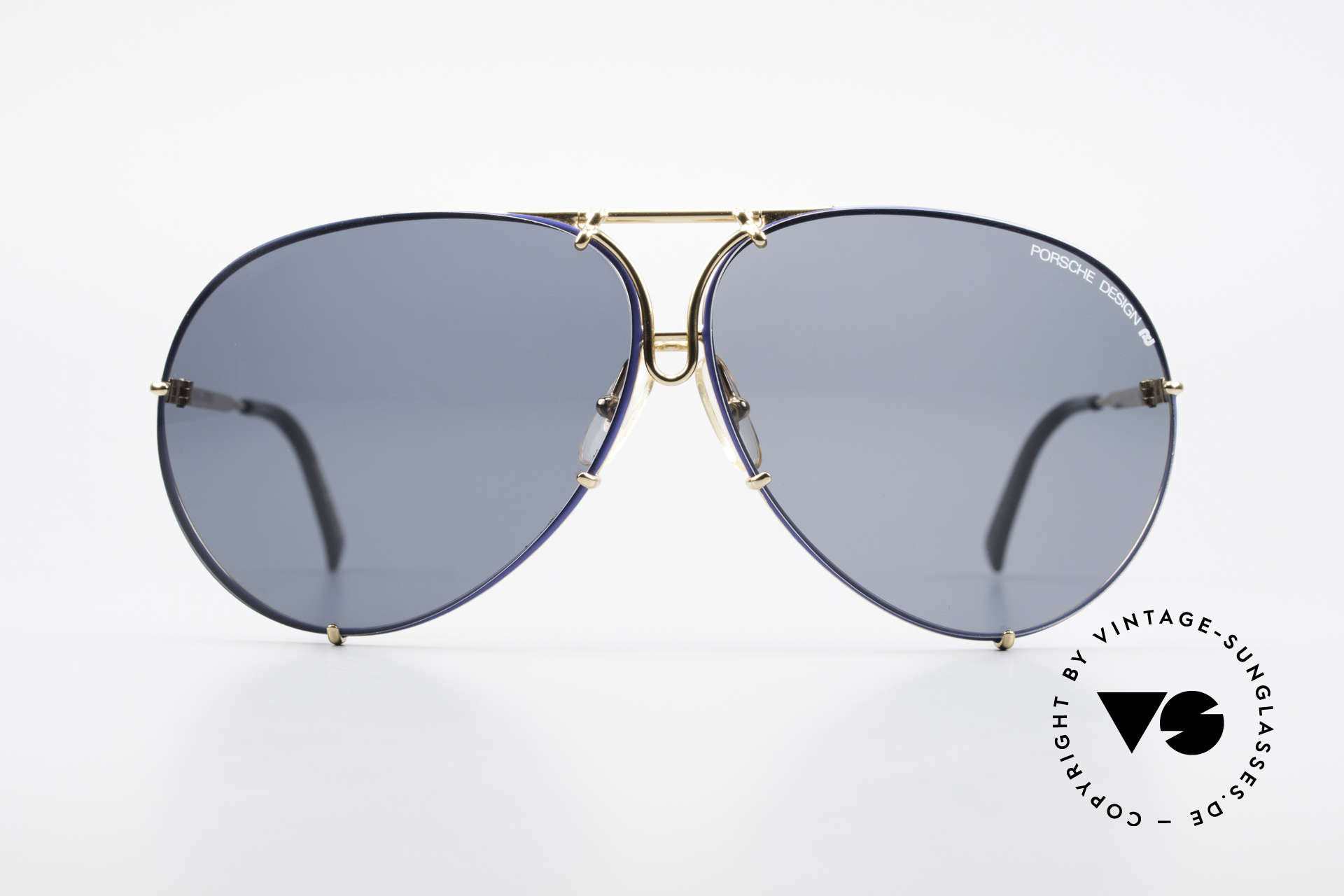 Porsche 5621 XL 80's Aviator Shades Limited, unworn rarity in LARGE SIZE; incl. orig. Porsche case, Made for Men