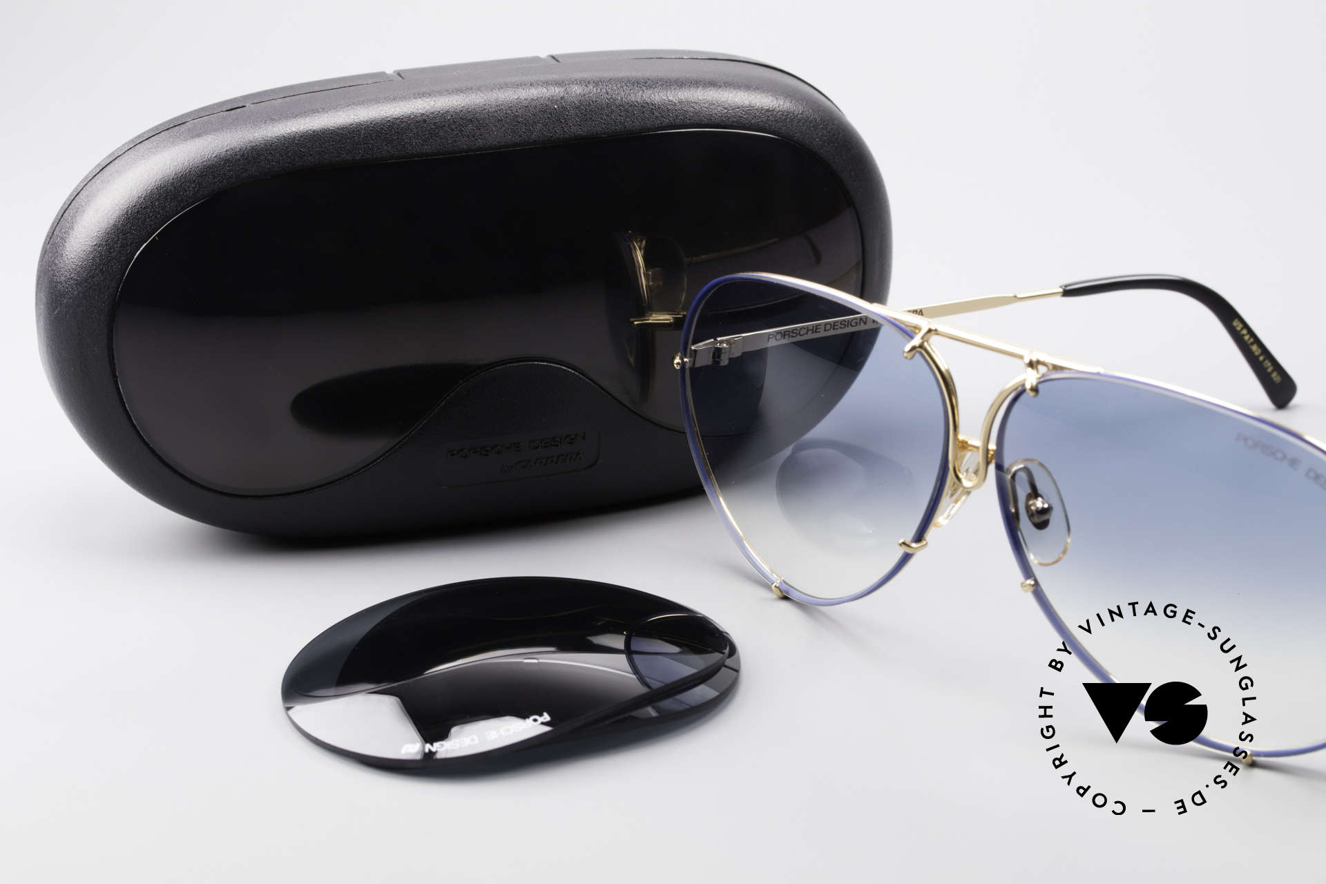 Porsche 5621 XL 80's Aviator Shades Limited, NO RETRO SUNGLASSES, but a 30 years old ORIGINAL, Made for Men