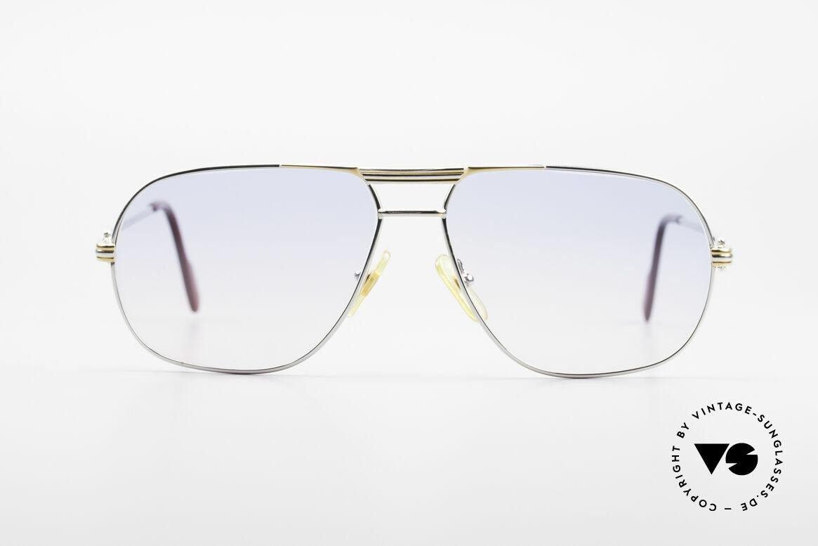 Cartier Tank - M Platinum Finish Baby Blue Pink, precious CARTIER eyewear for gentlemen - just timeless, Made for Men