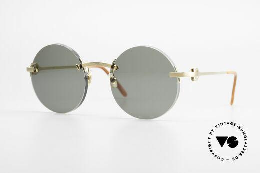 893a3d5de0 Cartier C-Decor Madison Round Luxury Sunglasses Details