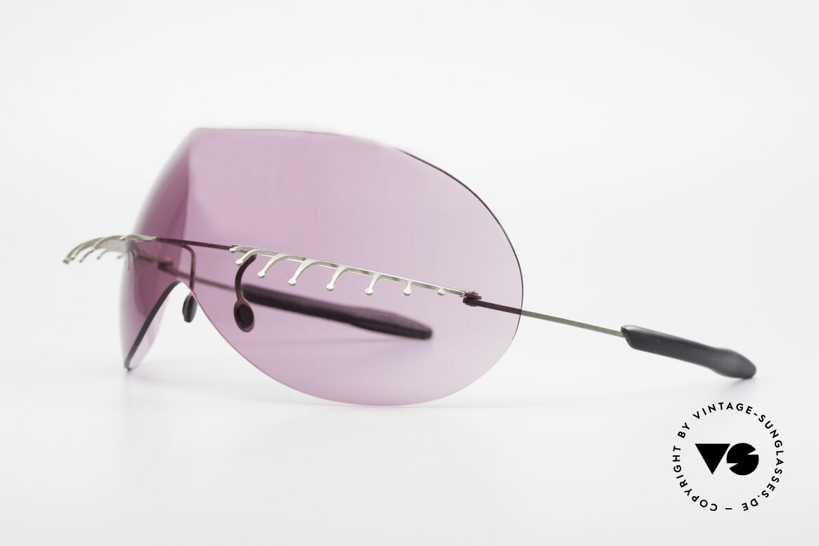 Theo Belgium Satisfashion 131 Sunglasses With Eyelashes