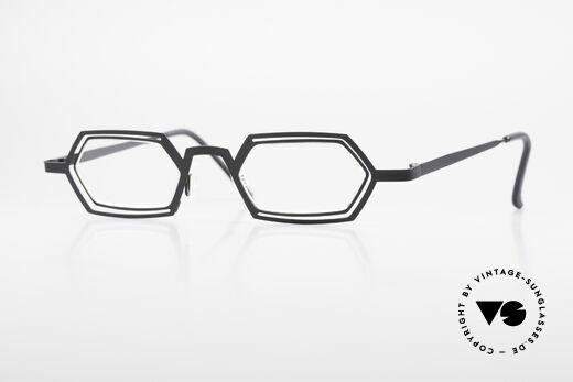 Theo Belgium Reflexs 90's Eyeglasses No Retro Frame Details