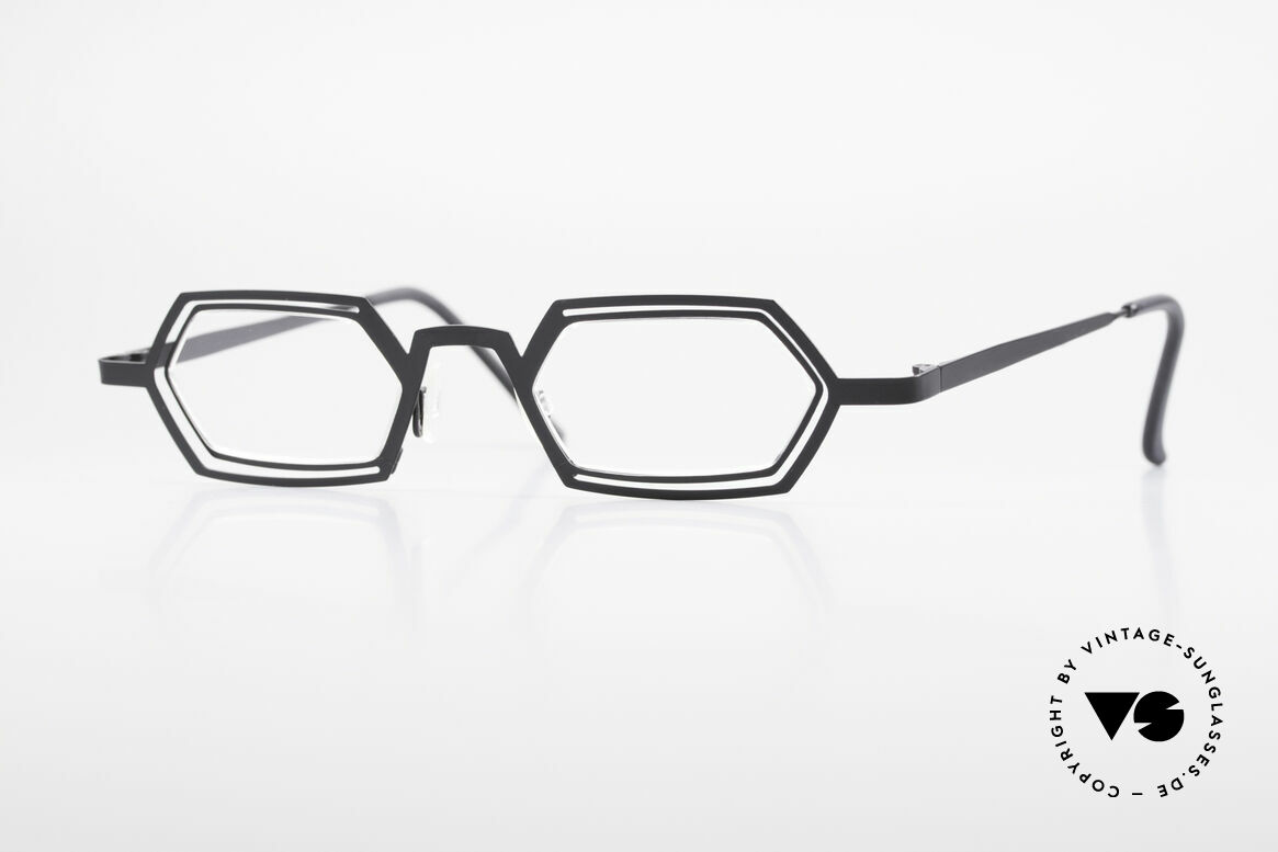 Theo Belgium Reflexs 90's Eyeglasses No Retro Frame, Theo Belgium: the most self-willed brand in the world, Made for Men