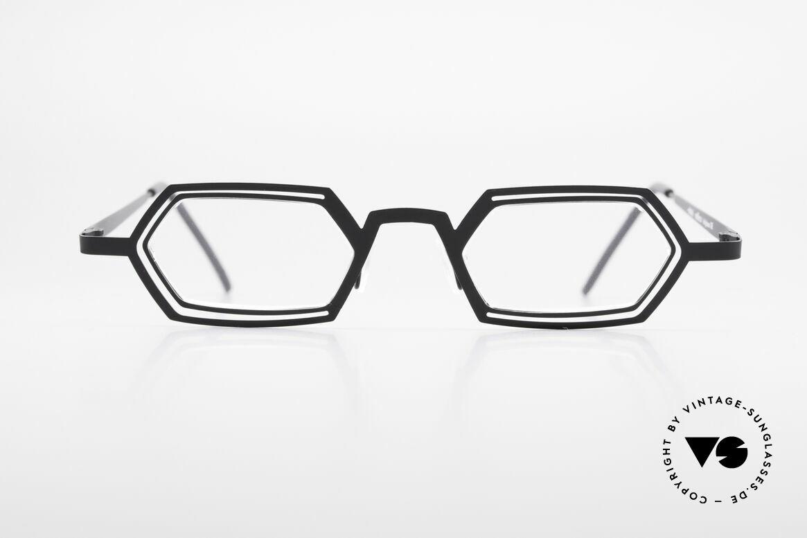 Theo Belgium Reflexs 90's Eyeglasses No Retro Frame, founded in 1989 as 'anti mainstream' eyewear / glasses, Made for Men