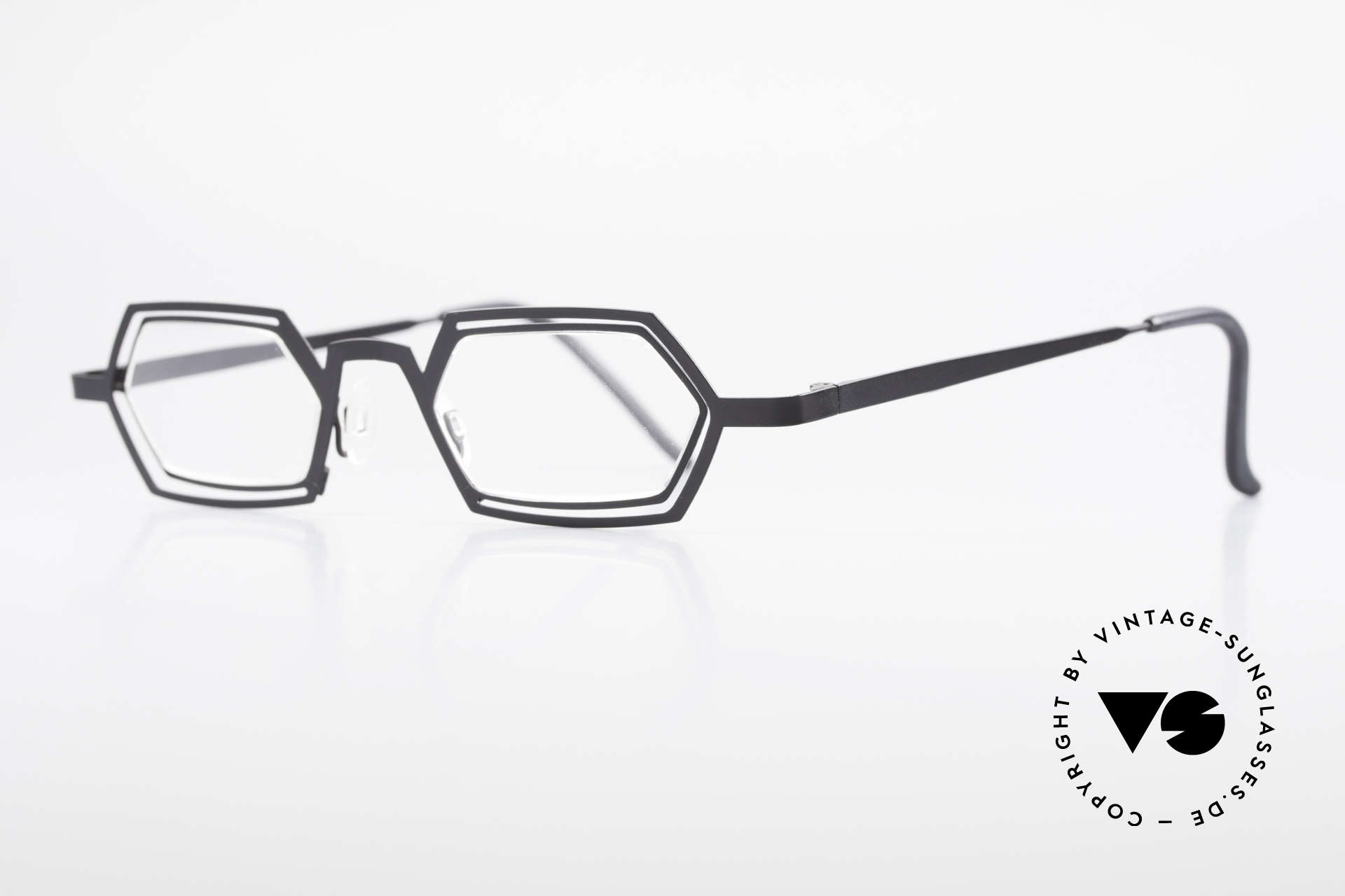 Theo Belgium Reflexs 90's Eyeglasses No Retro Frame, made for the avant-garde, individualists; trend-setters, Made for Men